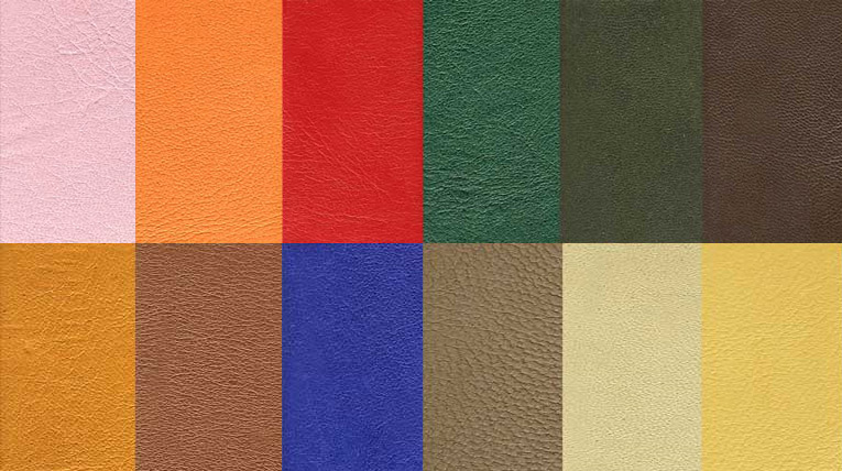 Leather Colour Swatches